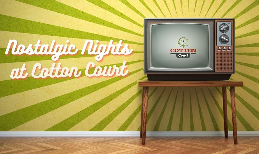 Retro Television A Nostalgic Night at Cotton Court Hotel Package