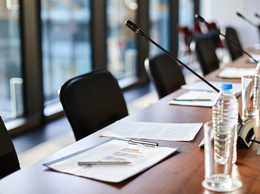 Boardroom at Cotton Court Hotel