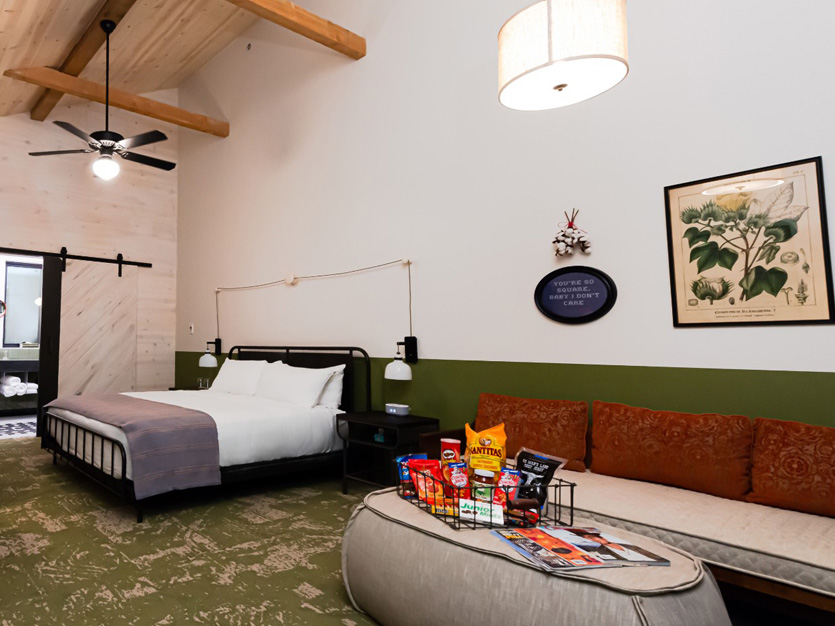 Classic King rooms at Cotton Court Hotel, Lubbock,Texas
