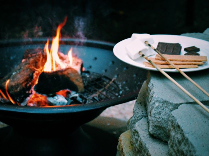 Fire Pit and S'mores